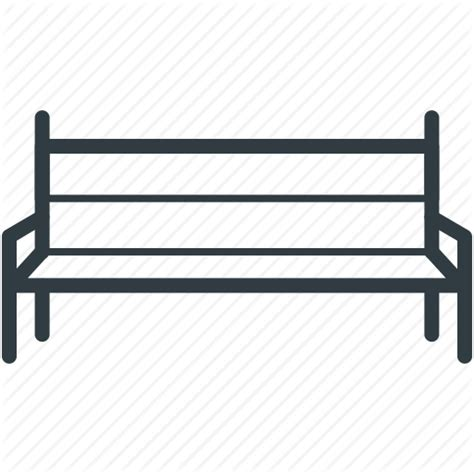 bench outline bench garden bench outdoor furniture park bench school