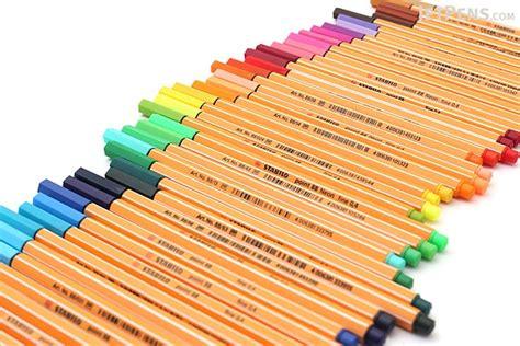 Stabilo Pen 88 0 4 stabilo point 88 fineliner marker pen 0 4 mm 47 color