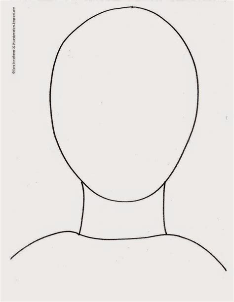 Self Portrait Template