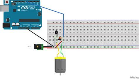 arduino tutorial dc motor motor controlling a dc motor speed with arduino