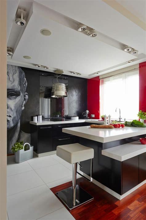 deco rouge cuisine