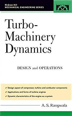 mcgraw hill design of machinery turbo machinery dynamics design and operations mcgraw