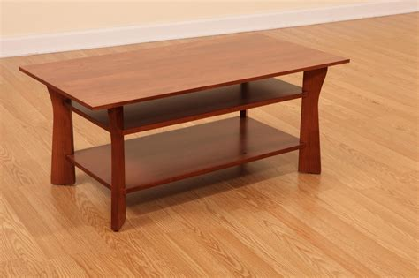 Cherry Wood Coffee Table Cherrywood Coffee Tables Southwold Solid Cherry Wood Coffee Table With Pot Board 187 Handmade