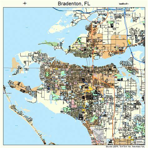 map of bradenton florida and surrounding area bradenton florida map 1207950