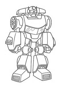 Chase Bot Coloring Pages For Kids Printable Free Rescue Printable Rescue Bots Coloring Pages