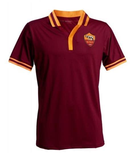 Polo Shirt As Roma 13 13 14 roma home soccer jersey no sponsor logo shirt roma