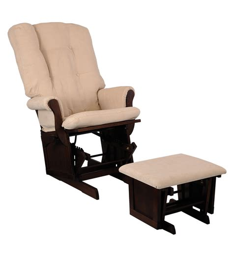 ottoman for rocking chair rocking chair with ottoman by durian by mudramark online