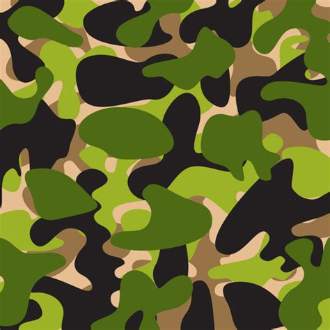 green pattern ai camouflage pattern vector free vector download in ai