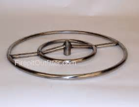 18 quot stainless steel pit ring