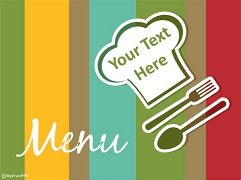 powerpoint food templates restaurant menu powerpoint template fitfloptw info