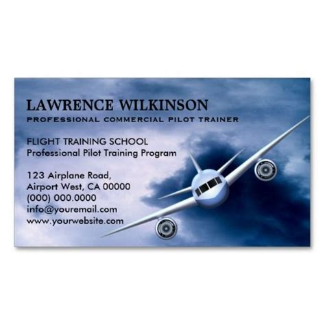 aviation business cards templates 17 best images about pilot business cards on