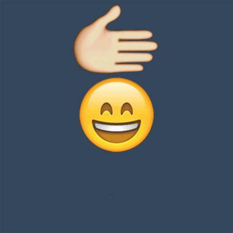 smiling gif emoji smile gif find on giphy
