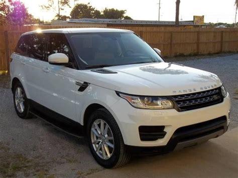 white range rover hse for sale for sale 2014 range rover sport hse white v6 fully loaded