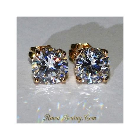 Anting Panjang Gold Imitasi jual anting yellow gold filled 18k exclusive look harga promo
