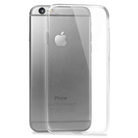 Ultra Thin Jelly Casecasing For Iphone 6plus 6s Plus olixar ultra thin iphone 6s gel 100 clear
