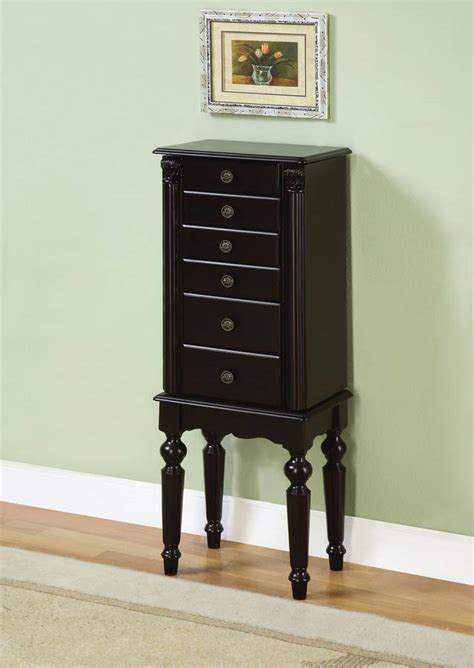 powell ebony jewelry armoire powell ebony jewelry armoire pw 502 317 at homelement com