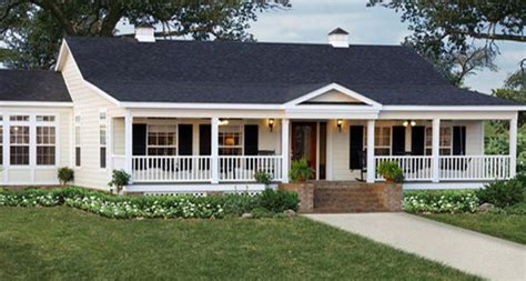 Wrap Around Porch triple wide mobile homes pictures ideas photo gallery