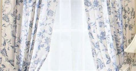 blue toile curtain panels brighton blue white toile window curtain french panel