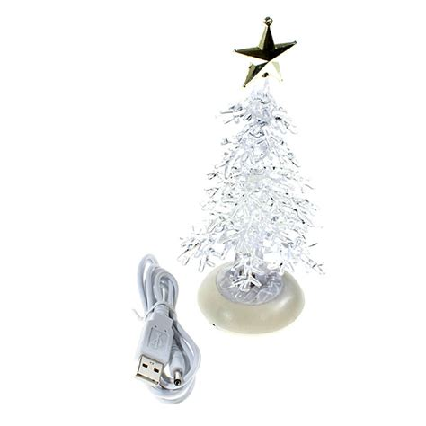 usb powered mini christmas tree free shipping dealextreme