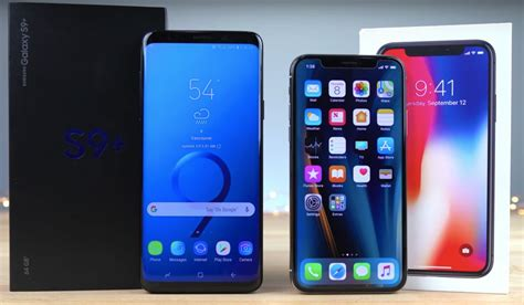 Iphone X Vs Samsung Galaxy S10 Plus by Galaxy S9 Vs Iphone X Real Speed Test A Upset We Didn T See Coming Bgr