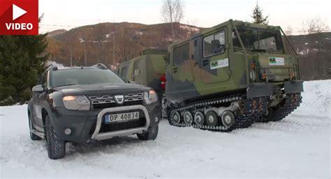 cadenas nieve dacia duster carscoops military vehicles posts