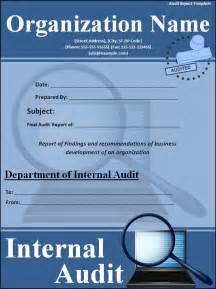 Click here to download this audit report template