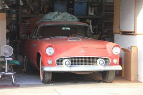 Craigslist Garden Grove California by 1955 Ford Thunderbird Barn Find