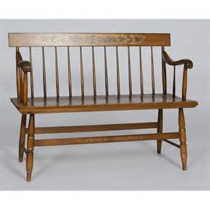hitchcock bench 35 l hitchcock parson s bench lot 35
