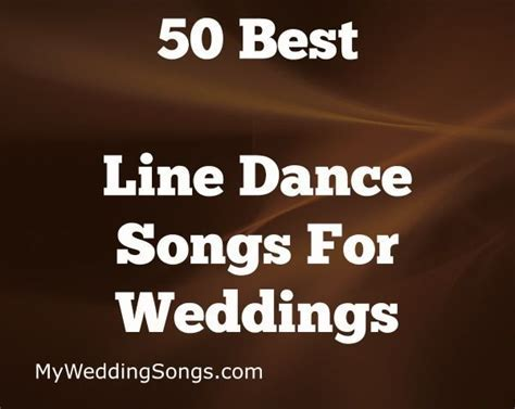 The 50 Best Line Dance Songs For Groups, 2019 in 2019