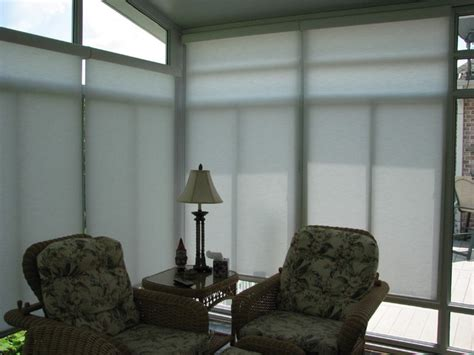 ceiling blinds for sunrooms sunroom motorized solar shades eclectic roller shades nashville by lightstyle solutions