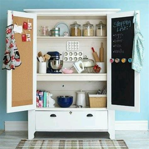repurposed tv cabinet shop space
