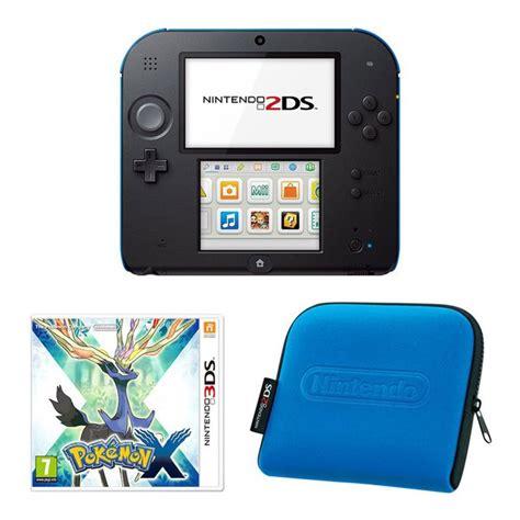 2ds console nintendo 2ds console black blue bundle includes