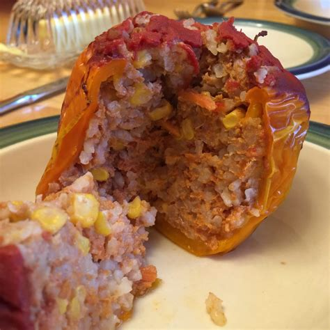 ground turkey recipes for crock pot crock pot ground turkey stuffed peppers dinner is a crock