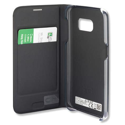 Flip Cover For Samsung Galaxy S7 samsung flip cover ef wg930pbegww for samsung galaxy s7