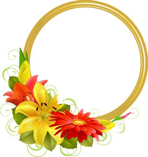 imagenes flores png marcos gratis para copiar y descargar marco para foto con