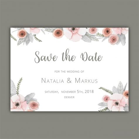 save the date diy templates wedding invitation template download