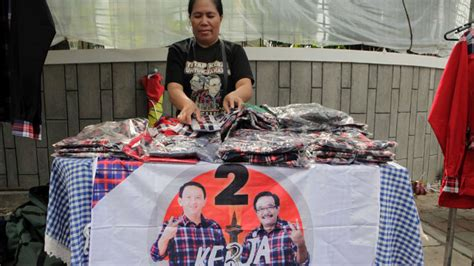 Ahok T Shirt battle for jakarta ahok siege despite high approval