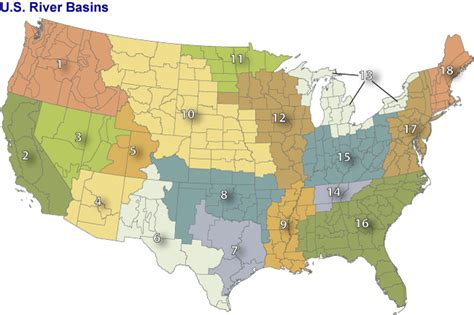 map of the united states great basin list of river basins in the united states wikipedia