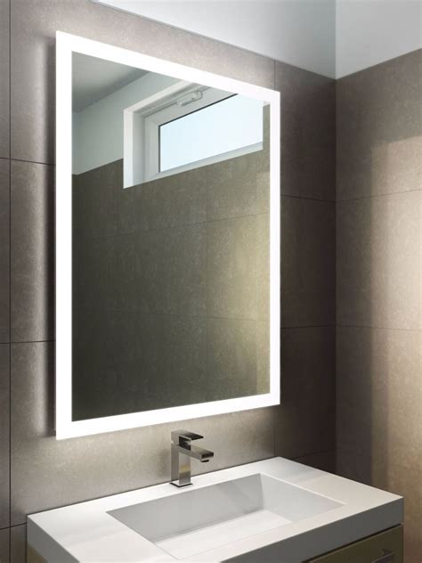 led light bathroom mirror halo tall led light bathroom mirror light mirrors