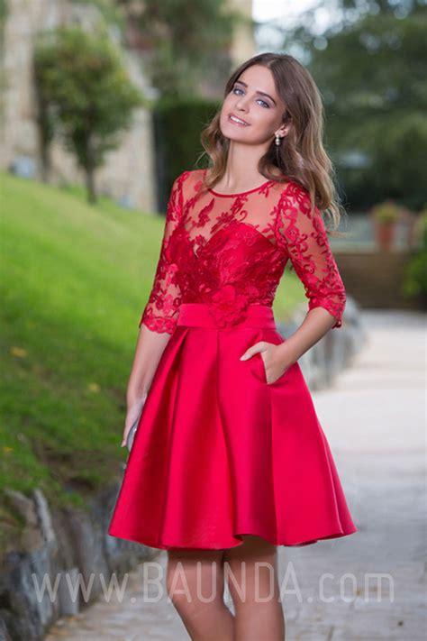 fotos de vestidos cortos 30 vestidos cortos para en color rojo vestidos glam
