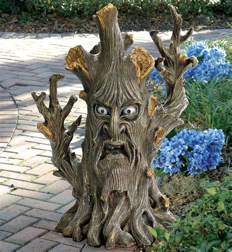 Garage Storage Design Software gnarled and twisted ent tree statue the green head