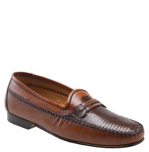 mezlan loafers mezlan regan loafer in brown for lyst
