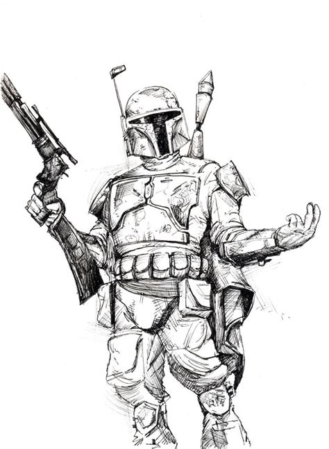 boba fett coloring pages wars coloring pages boba fett coloring home