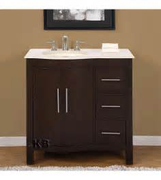 traditional 36 single bathroom vanities vanity sink - Pictures Of Sink Bathroom Vanities