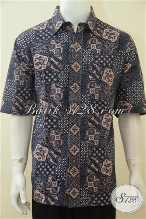 Hem Batik Pria Katun Premium Ukuran Jumbo Hrb 055 jual pakaian batik cowok ukuran jumbo buat pria