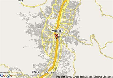 medellin map map of inn express hiex medellin medellin