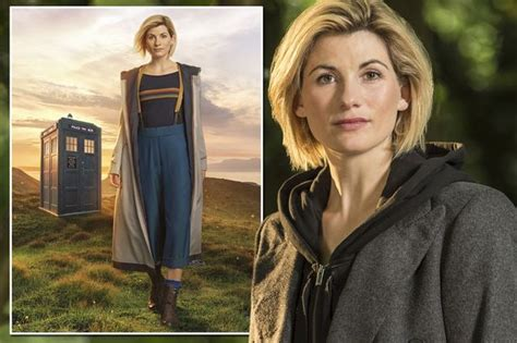 look at jodie whittaker as doctor who as she makes