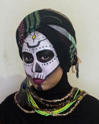 tutorial dandan halloween tutorial voodoo witch halloween makeup tutorial