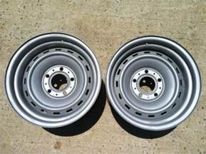 Truck Rims On Ebay Chevy Truck Rally Wheels 15x8 Ebay
