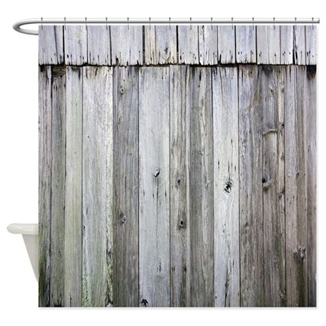 rustic curtain weathered rustic barn wood shower curtain by rebeccakorpita